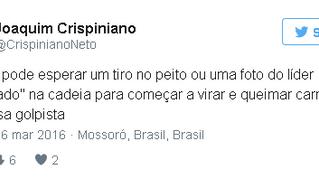 MP pede providências ao Governo sobre postagens de presidente da Fundação José Augusto