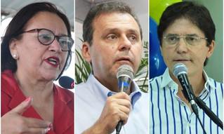 CONSULT: Fátima tem 32%, Carlos Eduardo 17,65% e Robinson 10,53%