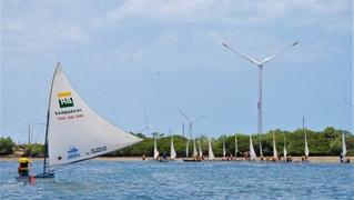 Oceânica debate monitoramento das praias e participa do Circuito de Velas, em Macau(RN)