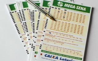 Mega-Sena acumula e Caixa estima prêmio de R$ 20 milhões para sorteio da próxima quarta-feira
