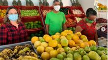 Depois de 3 anos e meio, prefeita visita mercado público meio a Pandemia.
