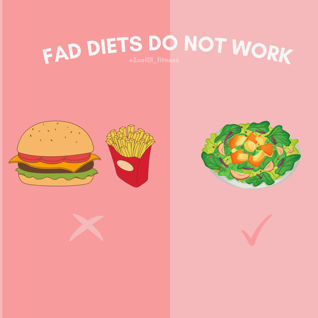 Fad Diets Don't Work