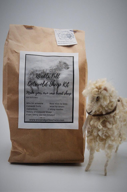 Cotswold Sheep | Felting Kit | Needle Felting