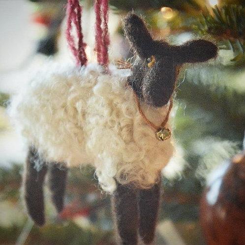 Felt Sheep Ornament