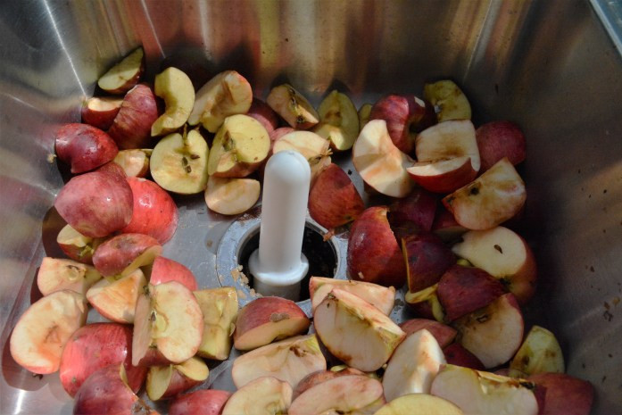 apples in disposal