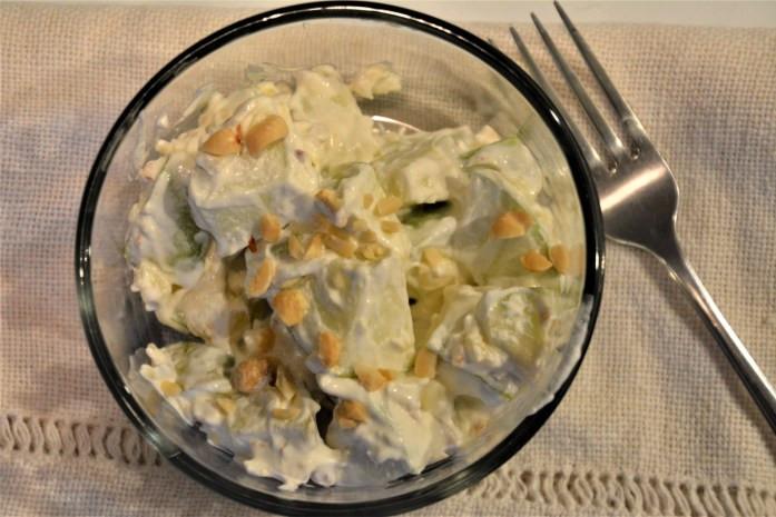 candy apple salad