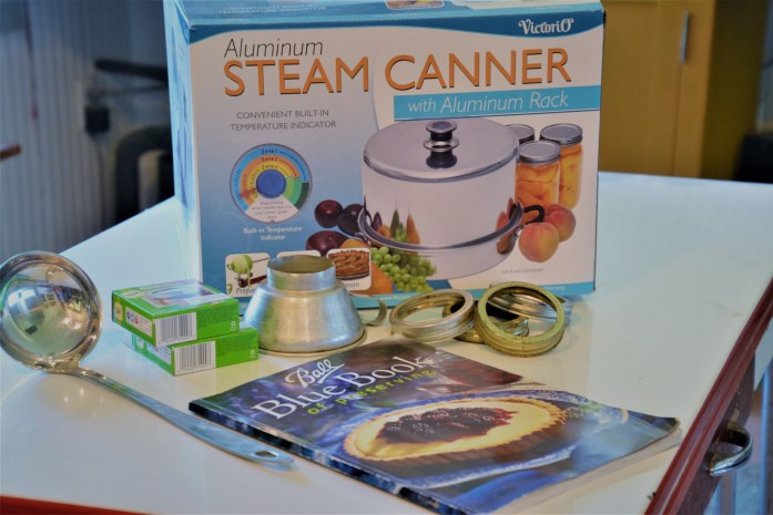steam canner and ball blue book