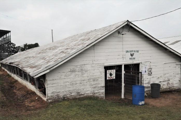 fair poultry barn