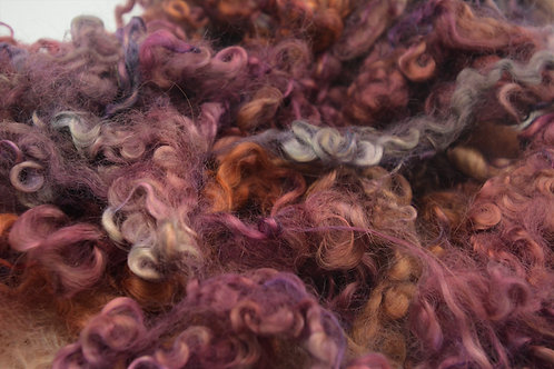 Raspberry Cotswold Wool Locks