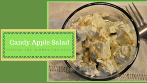 Candy Apple Salad – Perfect for Summer Potlucks!
