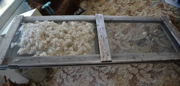 skirting table