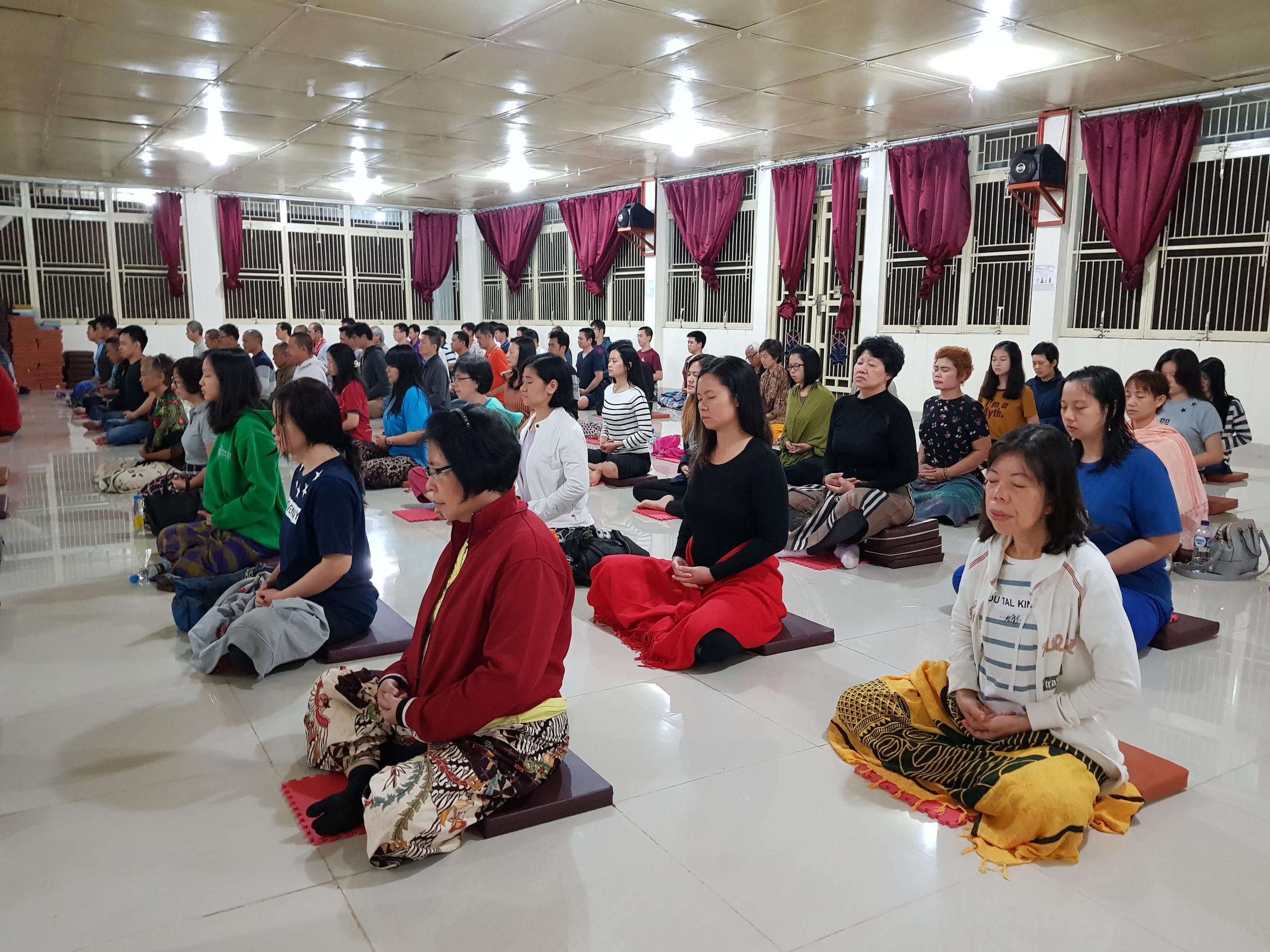 Retret Meditasi Desember 2018, Bakom, Cianjur