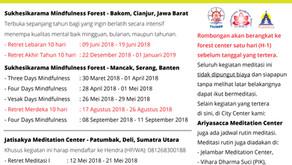 Retret Meditasi Vipassanā 2018