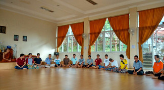 Retret Meditasi Juli 2016 di Bakom, Cianjur