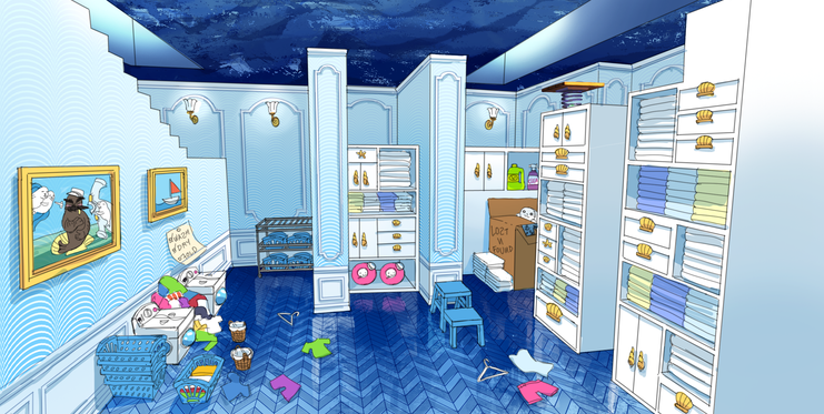 Seal the Deal DLC - Laundry Room