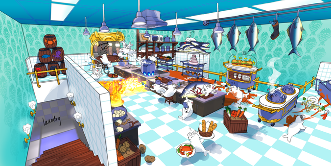 Seal the Deal DLC - Kitchen