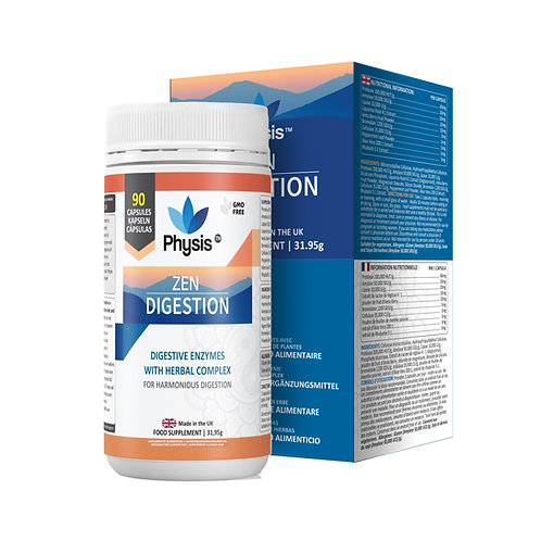 Physis Zen Digestive Enzymes - 90 capsules