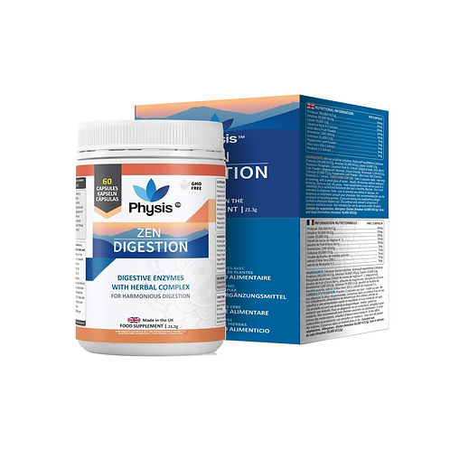 Physis Zen Digestive Enzymes - 60 capsules