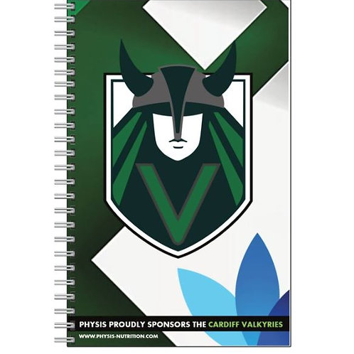 Valkyries Lined Notebook
