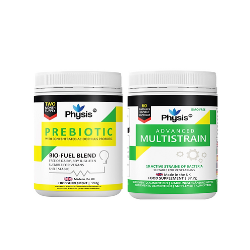 Physis Advanced Multistrains and Prebiotic Bio Cultures Value Pack