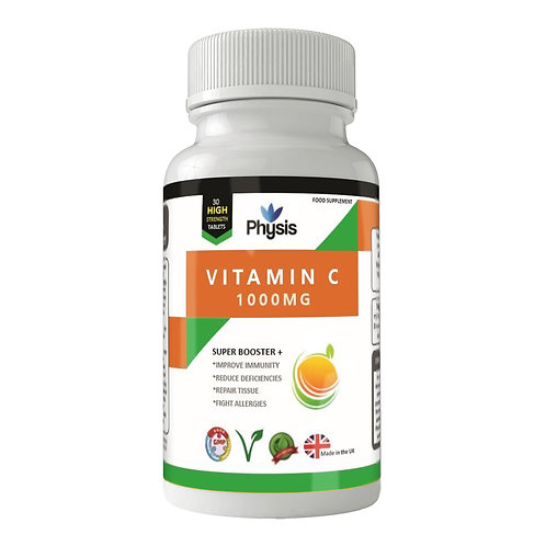 Physis Vitamin C | High Strength 1000mg | Antioxidant