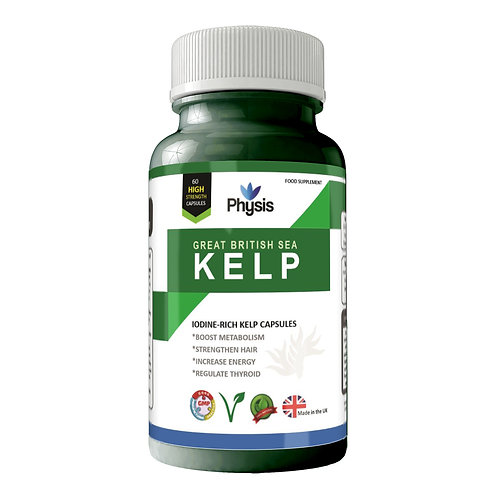 Physis Great British Sea Kelp | Ethically Sourced | High Strength 600mg