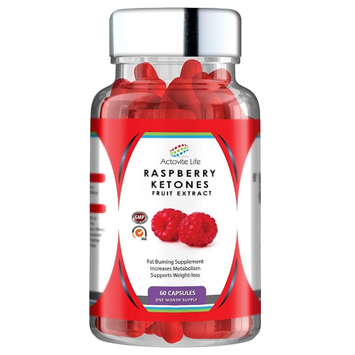 Raspberry Ketones 1000mg per Capsule Max Strength Weight Loss - UPC 641243749037
