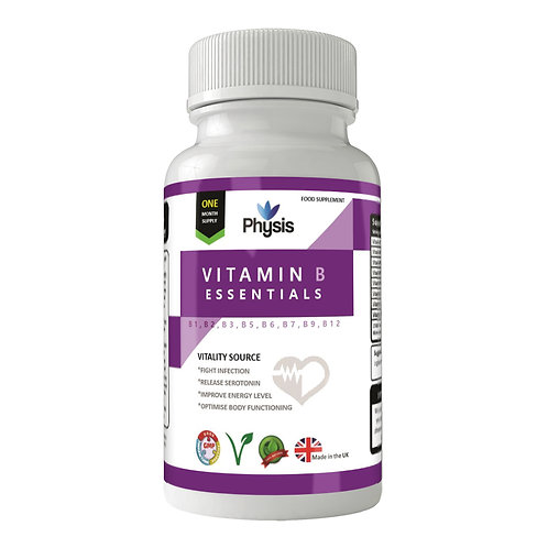 Physis Vitamin B Essentials | Numerous Health Benefits | Stay Energised |