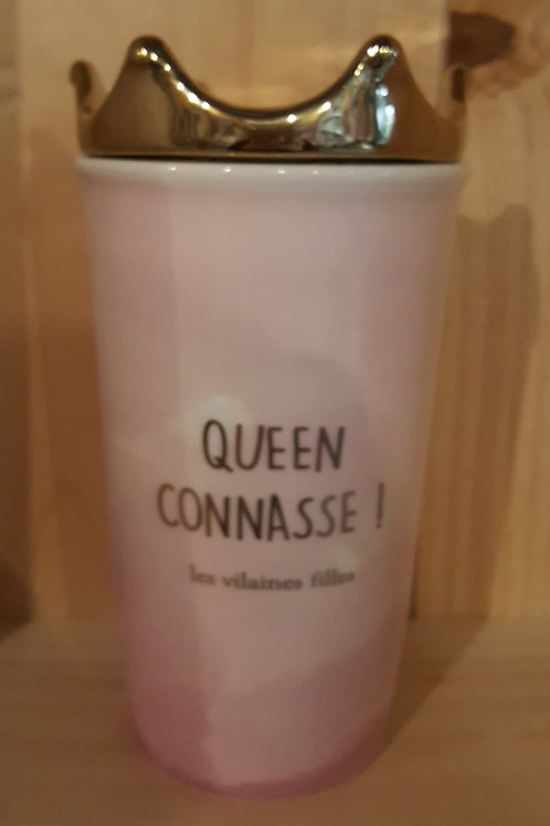 """Mug """"Queen Connasse"""""""