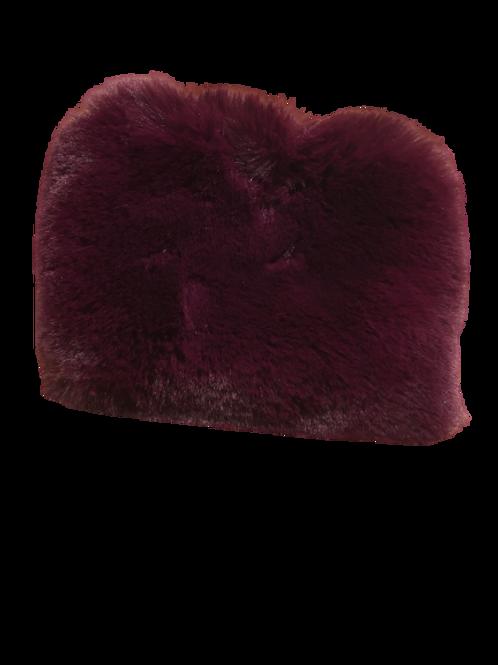 Trousse fluffy violette