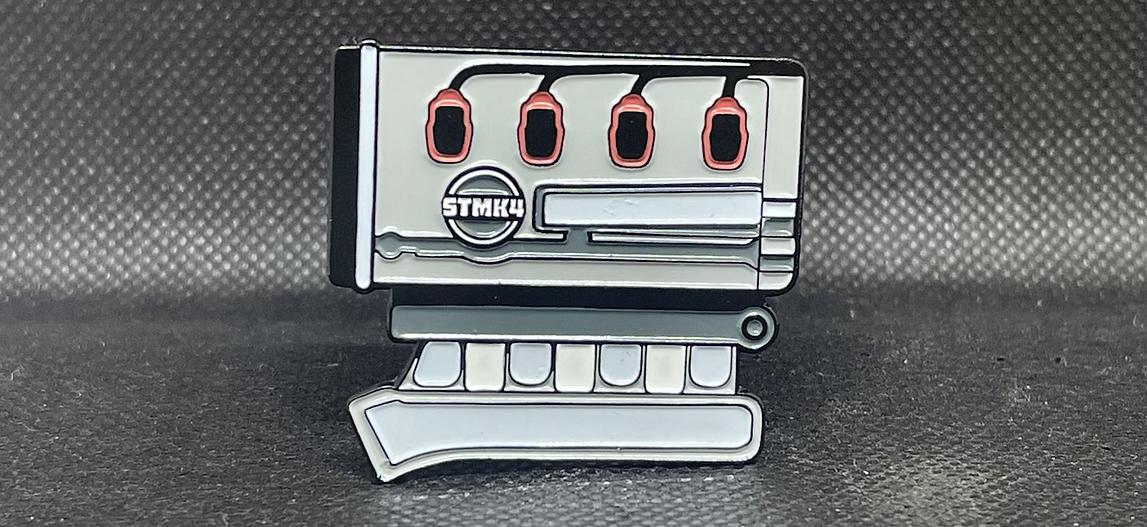 MK4 1.8t Enamel Pin