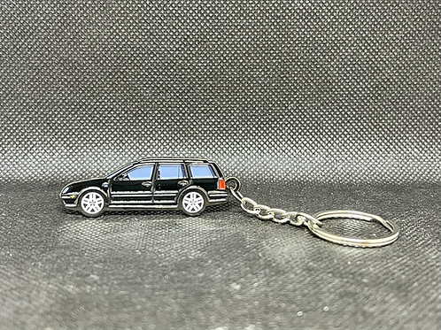 MK4 Wagon Keychain - Black
