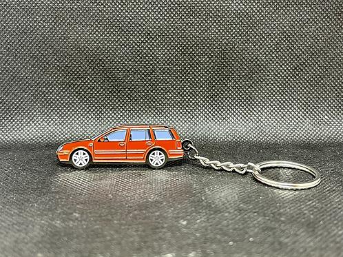 MK4 Wagon Keychain - Red