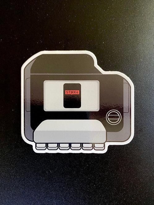 24V VR6 Sticker