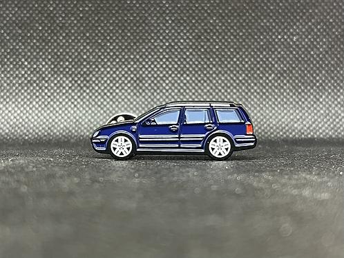MK4 Wagon Pin - Dark Blue