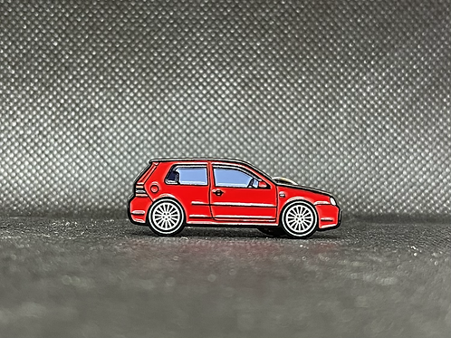 MK4 R32 Pin - RED