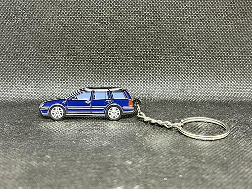 MK4 Wagon Keychain - Blue