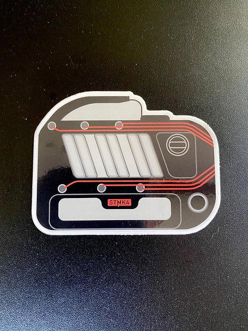 12V VR6 Sticker