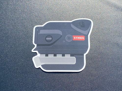 1.8t Sticker (w/ cover)
