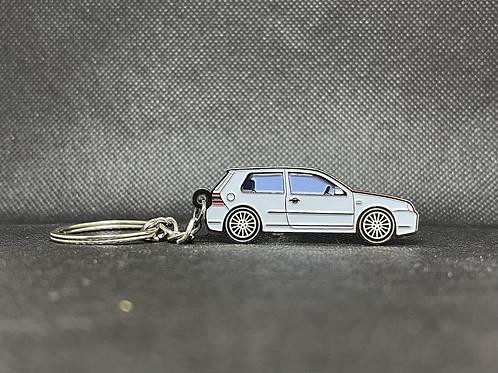 MK4 R32 Keychain - Silver