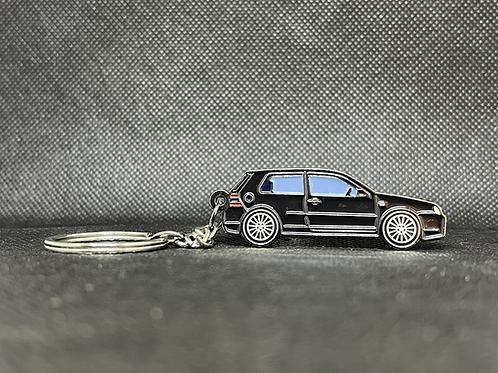 MK4 R32 Keychain - Black