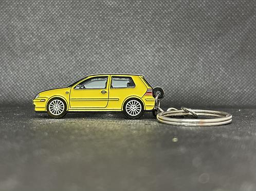 MK4 20th Anniversary Keychain - Yellow