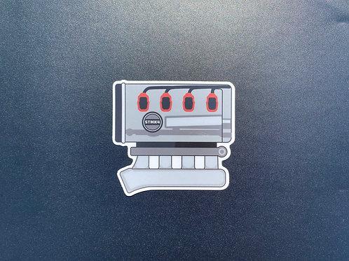 1.8t Sticker (no cover)