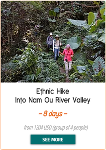 Ethnic Hike into NamOu Valley - 8 days