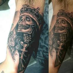 #nyctattooartist #done #oaxtattooink #tattoo #ogabel #ogabeltattoo #ogabelart rt __ogabel _#respect