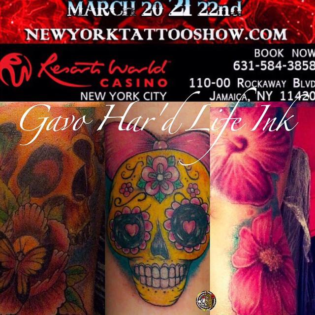 #hamptoninnjfk #resortsworldcasinonyc #NY #nyc #new #newyork #nolimits #nolimit #nolimitstattooshow
