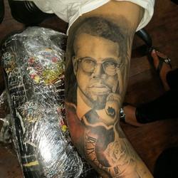 #malcomx #oaxtattooink #tattoo#gavo1 #gavo #efrenart
