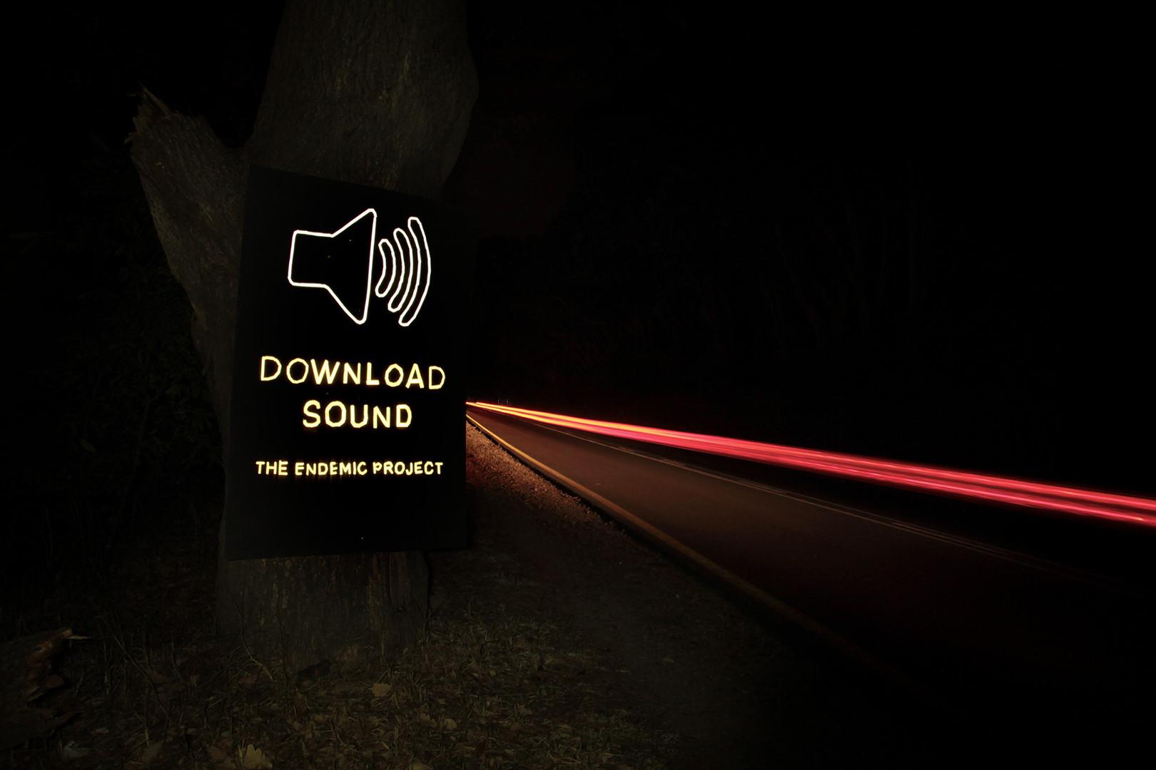 download-sound sign