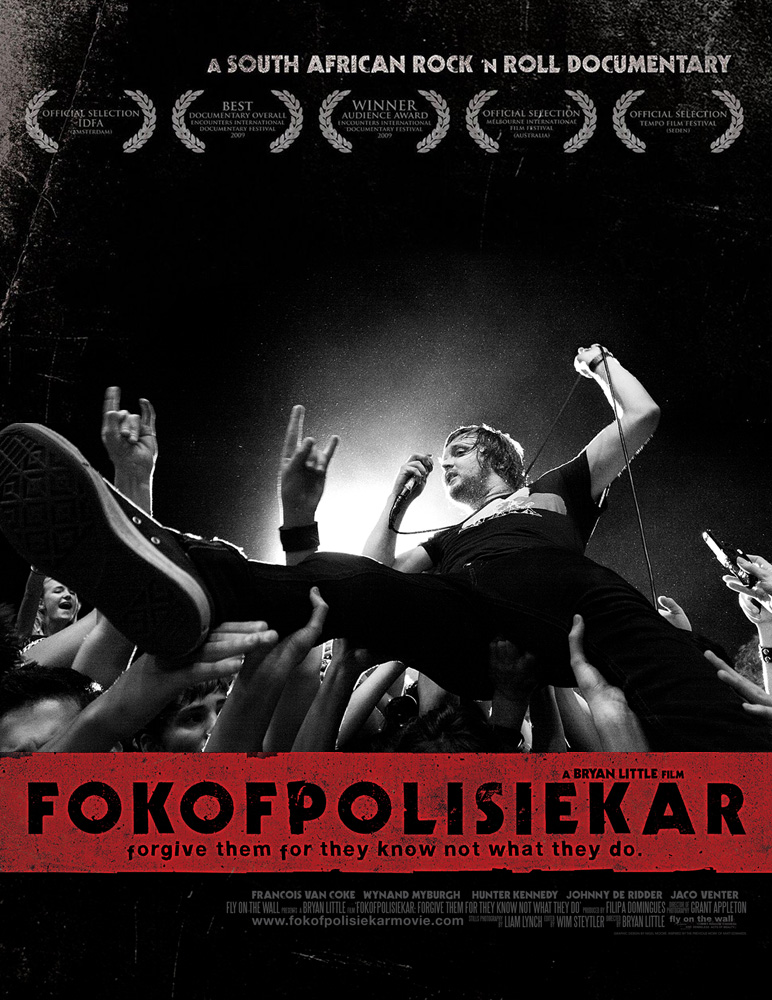 FOKOFPOLISIEKAR (fuck off police car) Forgive them for they know not what they do.