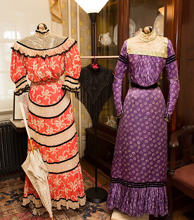 1898 Pink & 1898 Purple Dresses.jpg